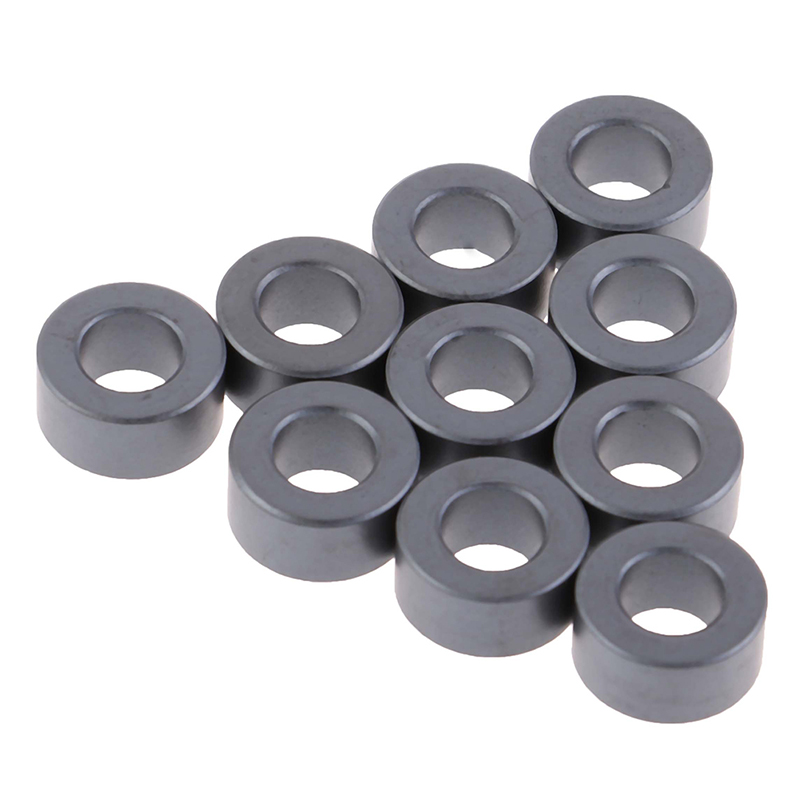 10Pcs Nickel-Zinc Ferrite Anti-Interference Filter Shielding Magnetic Ring High-Frequency Magnetic Core Filter