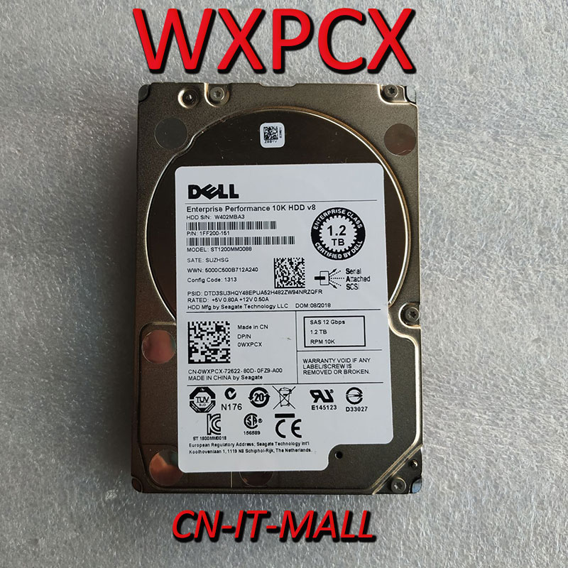 Pulled WXPCX ST1200MM0088 1.2TB 10K SAS 2.5