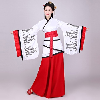 Women Elegant Hanfu Dress Chinese Ancient Han Dynasty Princess Clothing Fairy Costume Lady National Cosplay Outfit Stage Dress chinese traditional fairy costume ancient han dynasty princess clothing national hanfu outfit stage dress cosplay costume