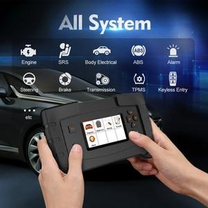 Image 2 - Ancel FX6000 OBD2 Scanner Professional Full System Code Reader Auto Auto Diagnose Werkzeuge ABS Öl Reset OBD 2 Automotive Scanner