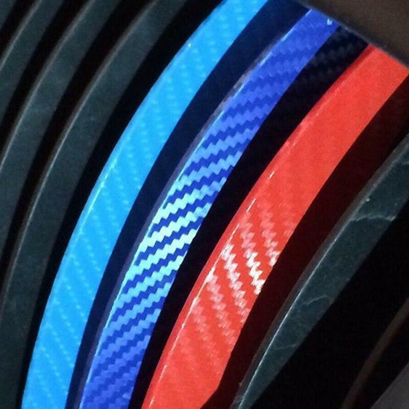 Auto Catr In Fibra di Carbonio Del Vinile Adesivo della Striscia di Parti di Set Car Styling Per BMW E46 E90 E60 E87 M3 M5 Tre colori Sticker
