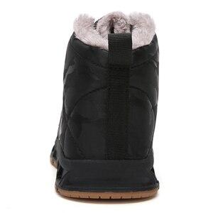 Image 5 - Çocuk kış ayakkabı erkek sıcak peluş kürk Sneakers kızlar için moda su geçirmez spor çocuk koşu ayakkabıları kaymaz kar ayakkabı