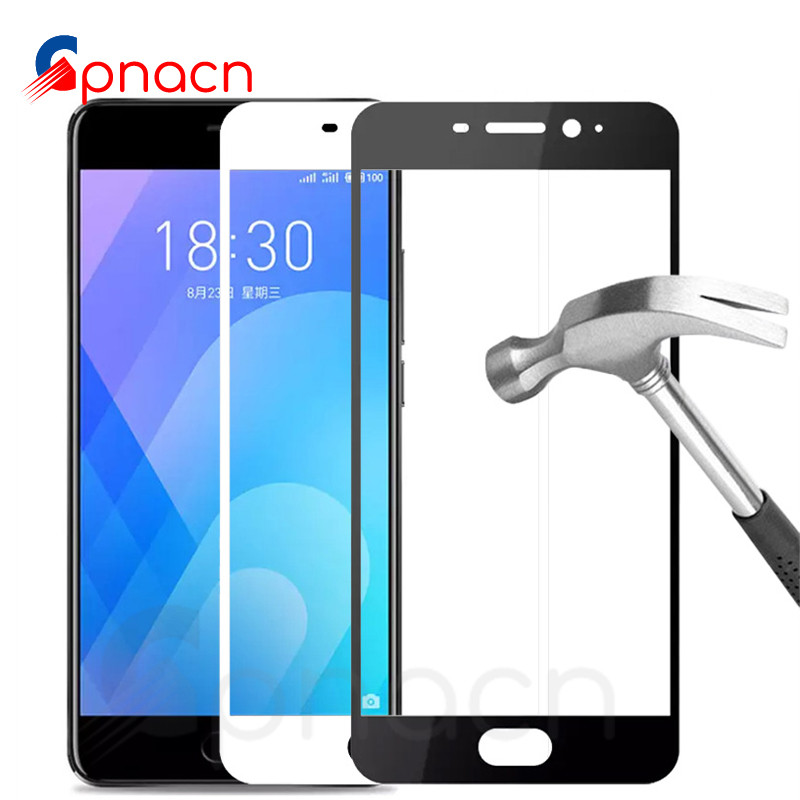 9D Protective Glass On The For Meizu M8 Lite M8 M6 M5 Note M6S M6T M5S M5C V8 Pro Tempered Screen Protector Glass Film Case