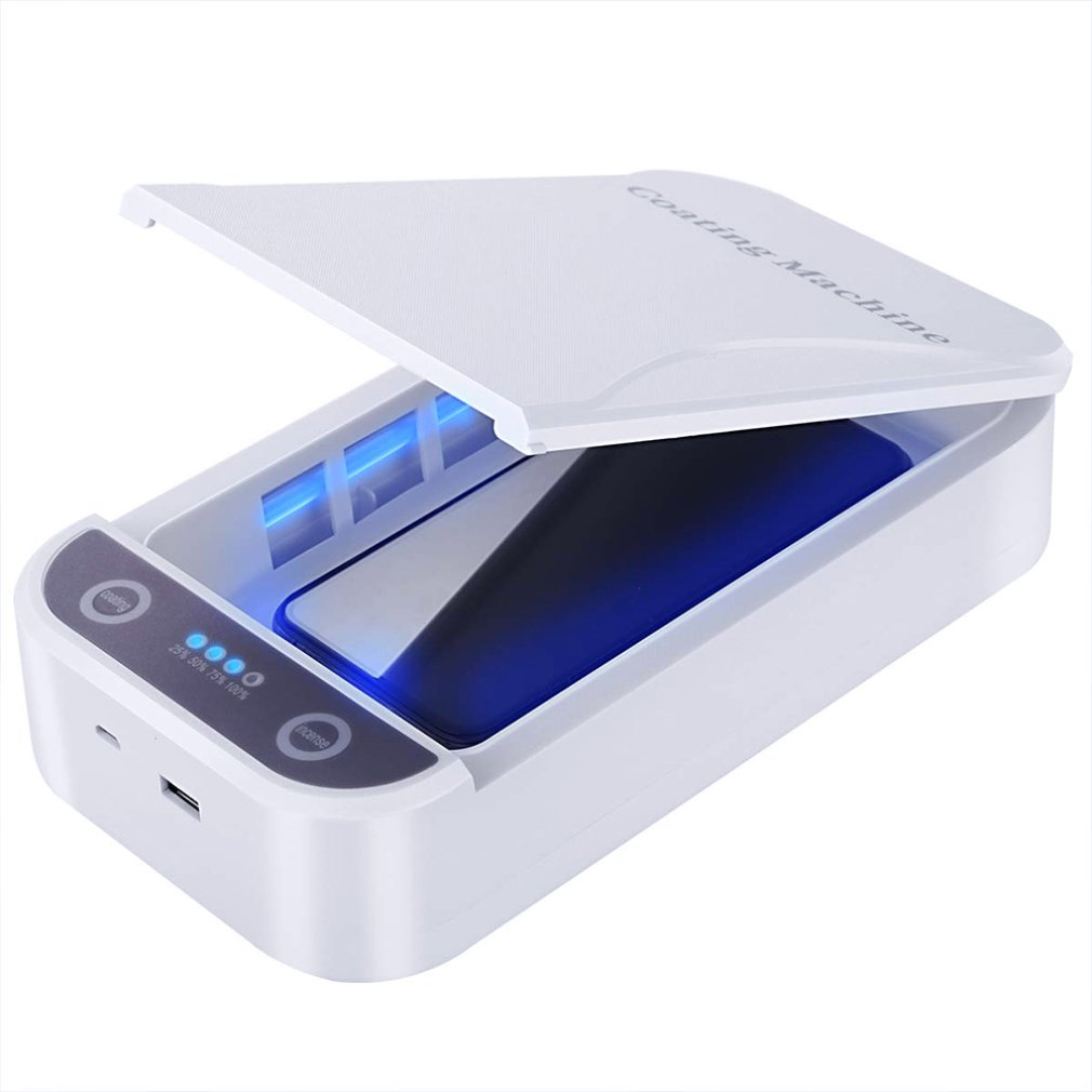 Multifunctional Mobile Phone Cleaner Sterilizer Automatic Disinfection Sterilization Automatic Aromatherapy Uv Kill 1 Pcs
