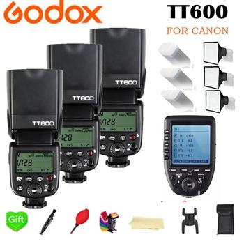 Godox TT600 GN60 2.4G Wireless TTL HSS Flash Speedlite + X1T-C Xpro-C Trigger for Canon 1100D 1000D 7D 6D 60D 50D 600D