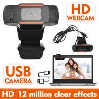 10 Uds cámara Web de 12MP cámara Web USB sin unidad cámara Web estudio en línea Reunión cámara para el escritorio menos de Webcam 4K ветатитатитититетититититата