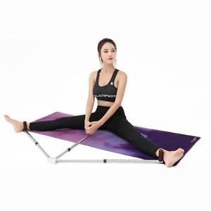 Image 4 - 3 Bar Bacak Sedye Bölünmüş Makine Uzatma Cihazı Paslanmaz çelik ayak Ligament için Bale Yoga Egzersiz Eğitim Ekipmanları
