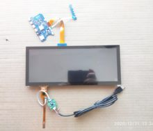 Brilho alto do jogo 12.3*1920 ips do visor lcd da barra de 720 polegadas com mini placa do motorista, tela táctil capacitivo hsd123kpw2 de usb
