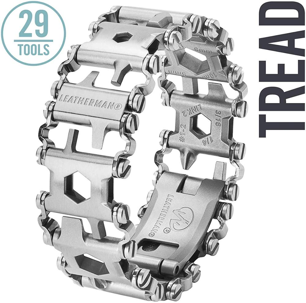 LEATHERMAN - Tread Bracelet, The Original Travel Friendly Wearable Multitool (METRIC )