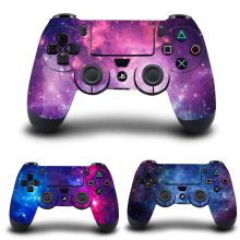 PS4 Controller Skin Galaxy Starry Stickers Vinyl Decal Sticker Cover for Sony PlayStation 4 DualShock 4 Wireless Controller
