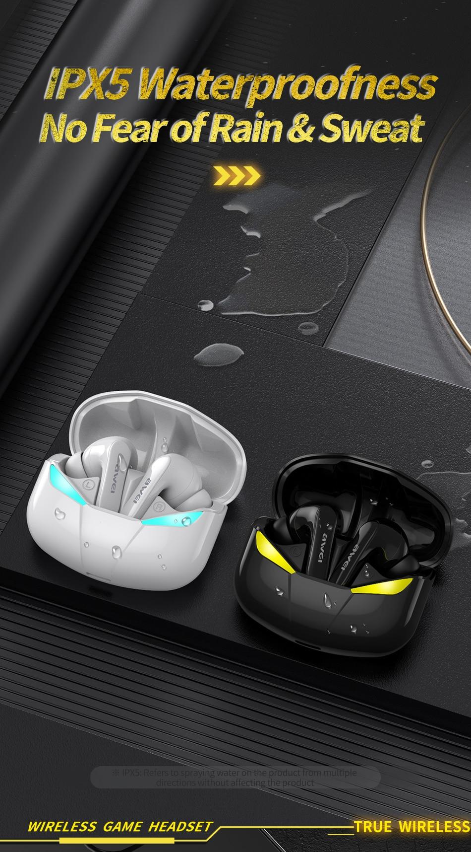 Gaming Earbuds 360° με Smart Touch In Ear - Ασύρματα Bluetooth Ακουστικά Handsfree IPX5