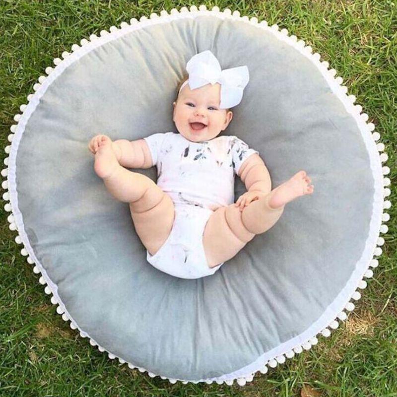 Thickening Cotton Baby Infant Play Mat Game Pad Kids Crawling Carpet Children Cushion Sleeping Blanket
