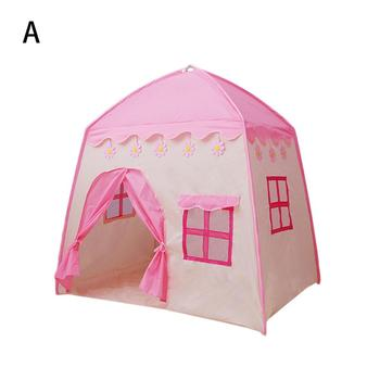 Game Tent Indoor Girl Pink Princess Toy House Boy Play House Baby Toy Game Tent Pool Ball Pool Pit Baby Tent House Crawling Tent new pirate ship children s tent game house marine ball pool indoor game tent toy house game fence for baby gifts