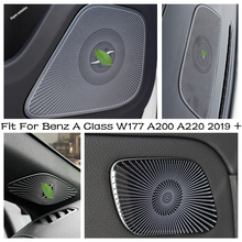 Stereo Speaker Class-W177 A200 Mercedes-Benz A220 Trim for Tweeter-Covers Window-Pillar