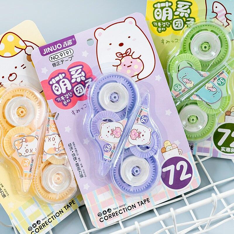 2pcs /Set Kawaii Sumikko Gurashi Correction Tape Erasers School Office Supply Student Kids Stationery Kids Gift
