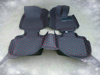 Full Covered Right Steering RHD Waterproof Carpets Durable Special Car Floor Mats for SMART FORTWO FORFOUR Most Models