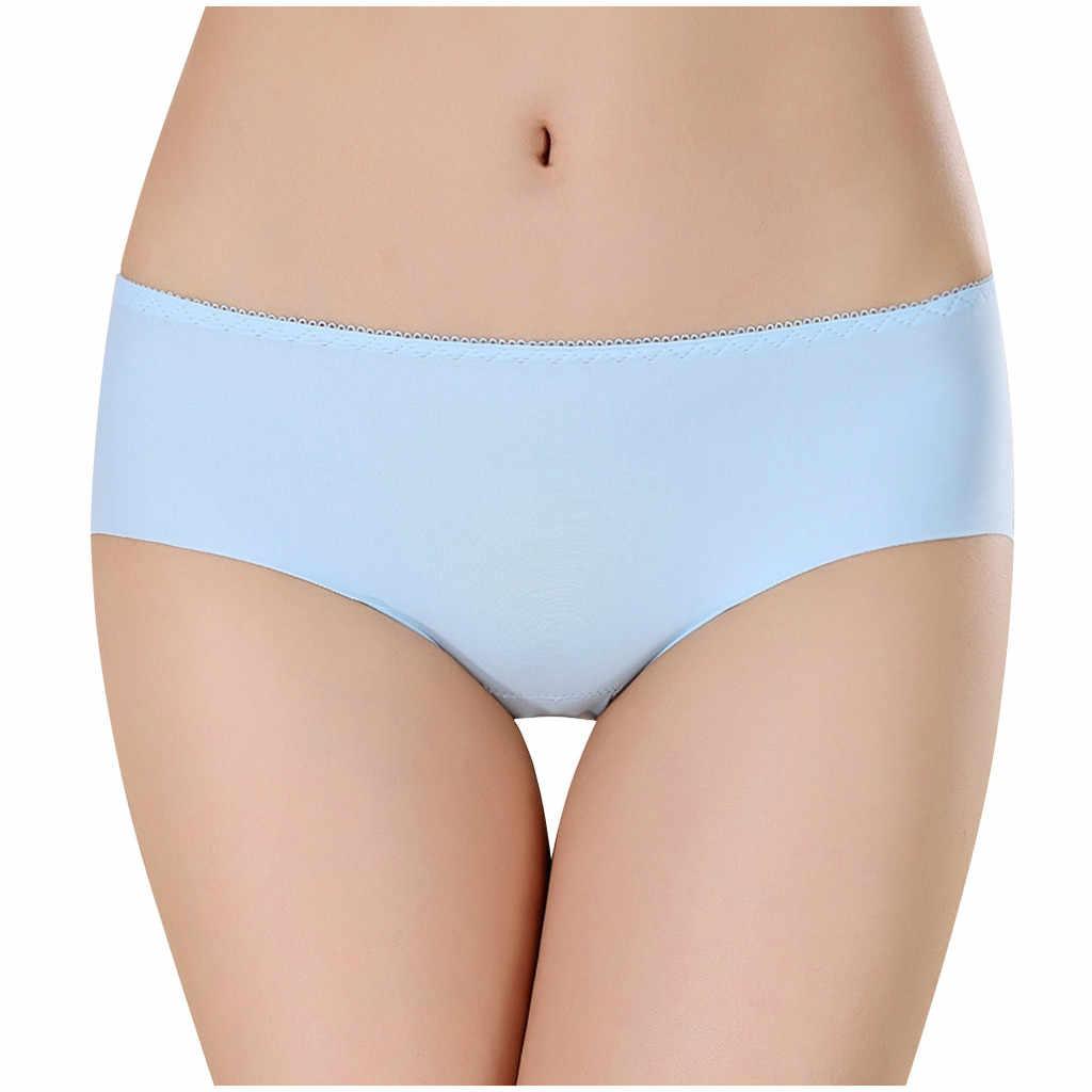 ผู้หญิงกางเกง ropa ภายใน femenina ผู้หญิงเซ็กซี่บริสุทธิ์ฝ้ายกางเกงยีนส์โปร่งใส Lce-Silk Lady's กางเกง calcin