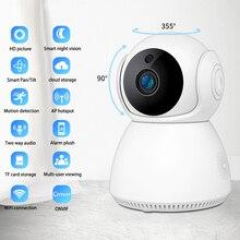 QZT IP Überwachung Kamera WIFI Video Home Security Kamera 360 ° Nachtsicht CCTV Baby Monitor Drahtlose Indoor Hund Pet kamera IP