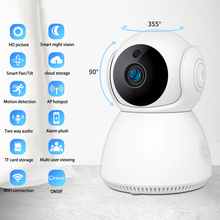 QZT IP Surveillance Camera WIFI Video Home Security Camera 360° Night Vision CCTV Baby Monitor Wireless Indoor Dog Pet Camera IP