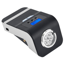 4 в 1 автомобильный воздушный компрессор Портативный автомобильный воздушный надувной насос 12 В Авто Лодка цифровой свет