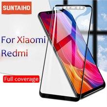 2.5D מלא כיסוי מזג זכוכית עבור Xiaomi Redmi 7A 6 6A 7 5 5 בתוספת redmi ללכת Note3 מסך מגן לxiaomi 8 mix2 mi לשחק סרט