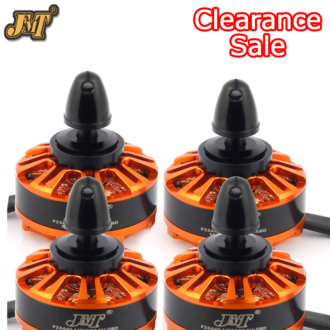 4Pcs/Set 3508 580KV Brushless Motor 3-6S JMT MT3508 Disk Motor High Quality For DIY RC Quadcopter Multi-Axis Drone Accessories
