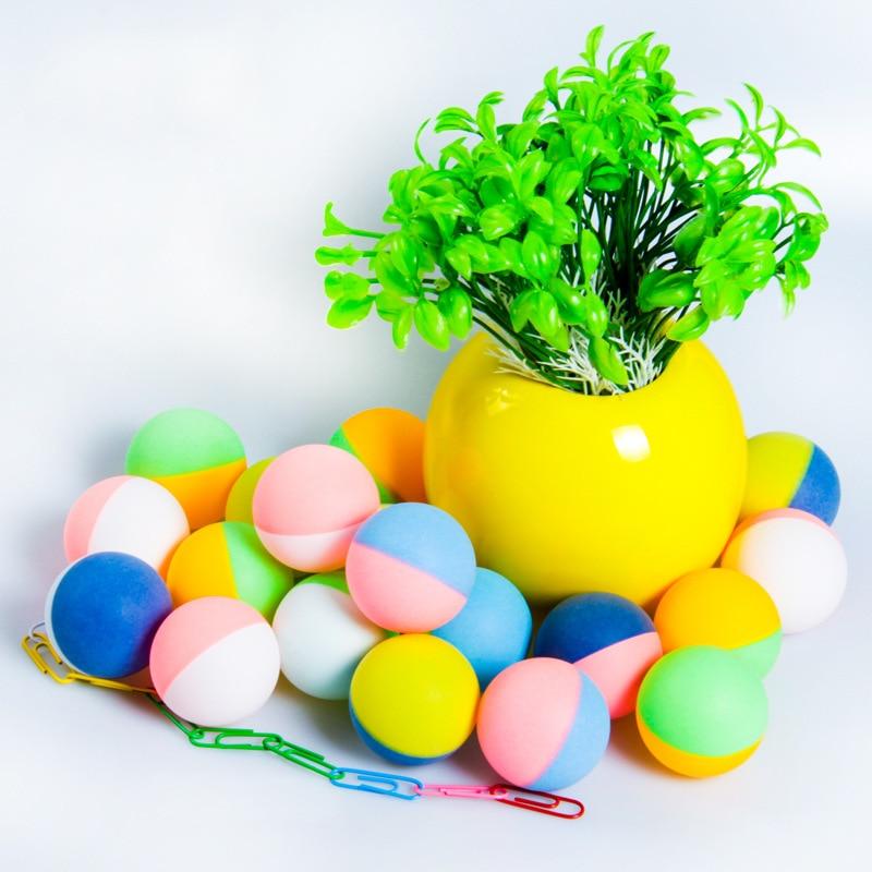 Furra Semi-Color Mandarin Duck Ball Multi-color Table Tennis Celluloid Multicolor Mixed