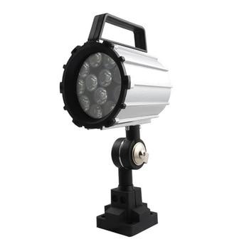 Short Arm Led Work Light 12W 24V~36V Aluminum Alloy Lighting 280Mm for Lathe Cnc Milling Machine