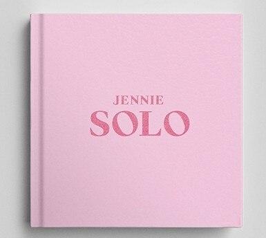 [MYKPOP] ~ 100% ORIGINAL officiel ~ BLACKPINK JENNIE SOLO Album ensemble CD + livre Photo KPOP Fans Collection SA19081701