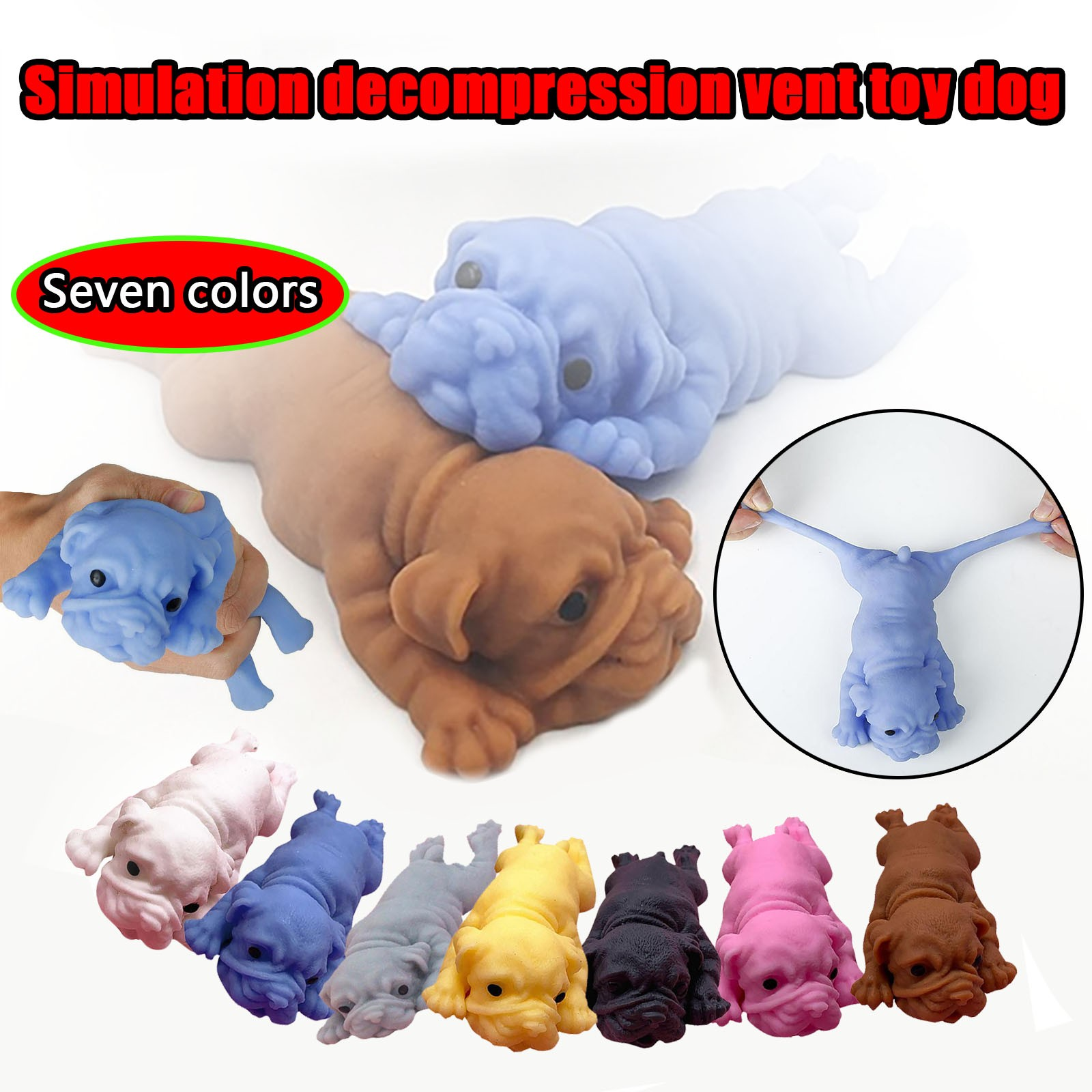 Toy Squishy Anime Fidget-Toys Simulation-Decompression Anti-Stress Creative for Men And img1