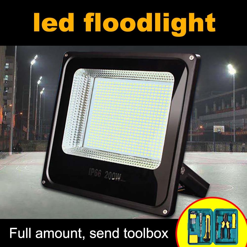 Ultrathin LED Flood Light 30W 50W 100W 150W 300W 400W 500W IP66 220V LED Spotligh Outdoor Flood Lighting LED Washer Floodlight