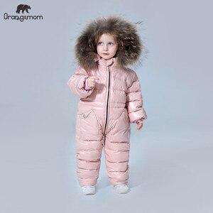 Image 1 - 11.11องศารัสเซียเสื้อผ้าเด็กฤดูหนาวลงเสื้อเด็กOuterwear Coats,Thickenกันน้ำSnowsuitsเสื้อผ้า