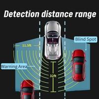 Sistema de Detección de punto ciego para coche, Sensor de Radar de microondas de 24Ghz, luz de movimiento BSD, advertencia