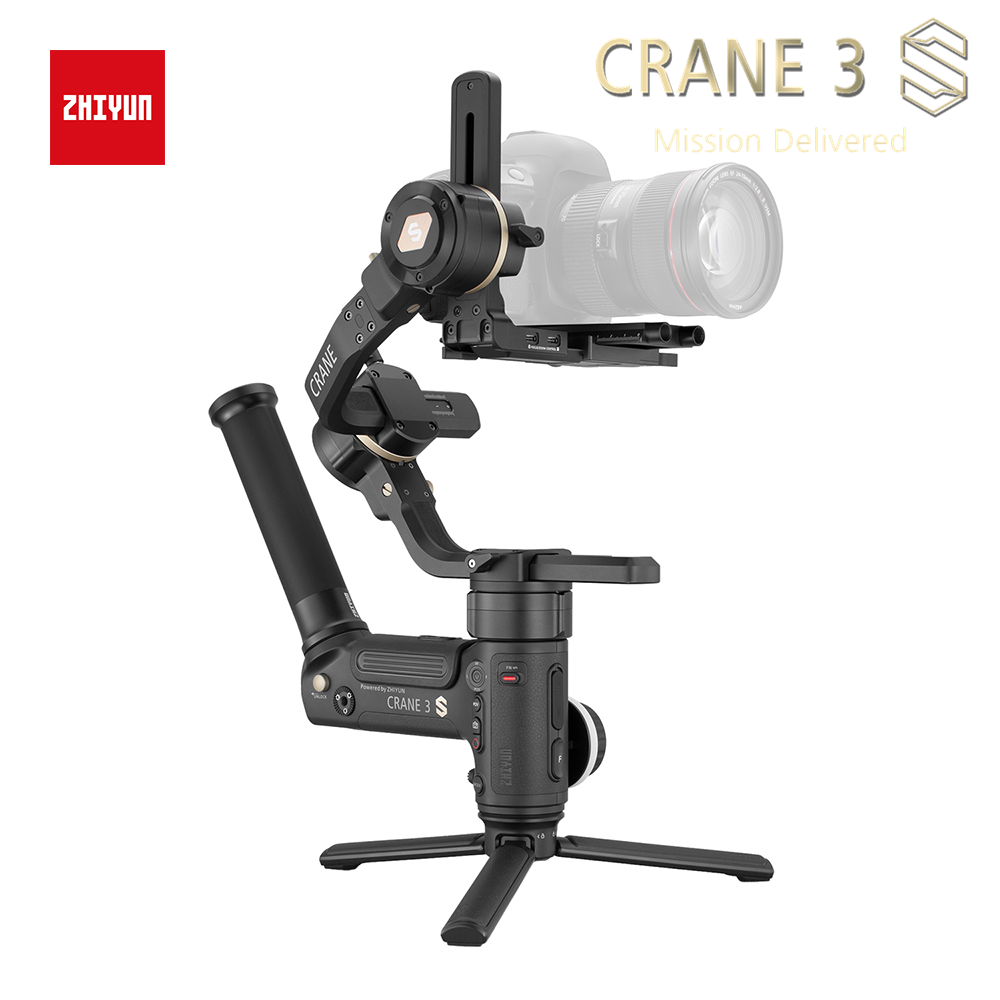 ZHIYUN vinç 3S S-E 3 oxlu el gimbal simsiz 1080p FHD DSLR kamera - Kamera və foto - Fotoqrafiya 3
