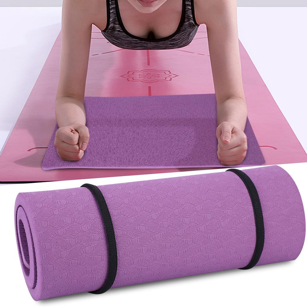 Yoga Knee Pad Pull Exercise Tool Non-slip Moisture-proof Yoga Mat Flat Support Elbow Pad Cushion Indoor Sports Accessories