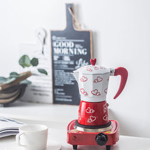 Итальянский кофейник Мока дома восьмиугольная алюминиевый кофейник эспрессо кофейник Мока ручной работы кофейная посуда Кофеварка гейзерная