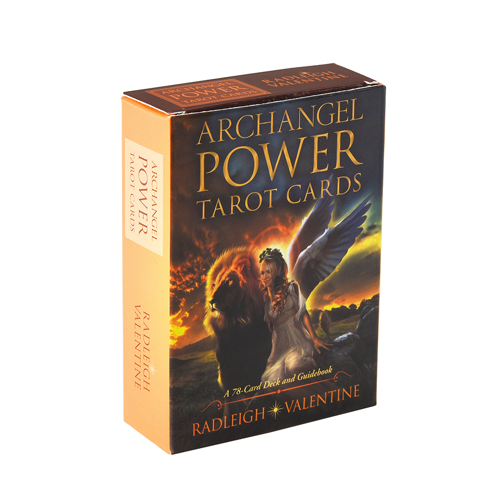 Archangel Power Tarot Cards: A 78-Card Deck And Guidebook Cards Move Forward With Positive Life Changes With The Help Archangels