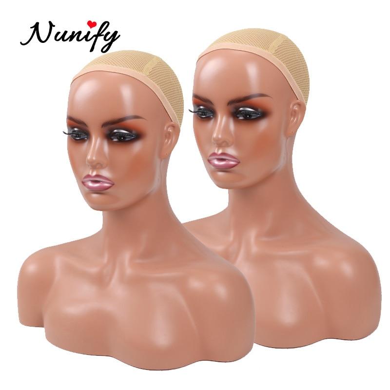 Реалистичный манекен женщина насадки для душа с плеча манекен головы бюст для парики Красота аксессуары Дисплей модель париком