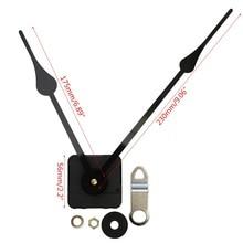 Diy silencioso grande parede relógio de quartzo movimento mecanismo mãos reparação ferramenta peças 667a