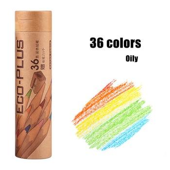24/36/48/72 Colori Colorazione Matite Set a Base di Olio di Colore per Artista Campo Schizzo Tavolo da Disegno SP99 Shop5095104 Store