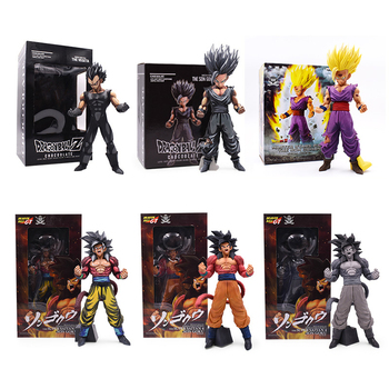 23cm Dragon Ball Z Super Saiyan Son Gohan Action Figures Master Stars Piece Goku Vegeta PVC Figure Collectible Model Toy Gift shf s h figuarts dragon ball z kid child son goku gokou pvc action figure collectible model toy
