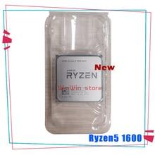 חדש AMD Ryzen 5 1600 R5 1600 R5 פרו 1600 3.2 GHz שש ליבות עשר חוט 65W מעבד מעבד YD1600BBM6IAE YD160BBBM6IAE שקע AM4