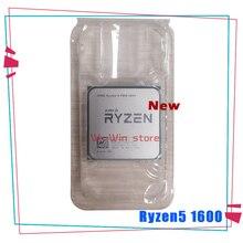 Nuovo AMD Ryzen 5 1600 R5 1600 R5 PRO 1600 3.2 GHz a Sei Core Dodici Filo 65W CPU Processore YD1600BBM6IAE YD160BBBM6IAE Presa AM4