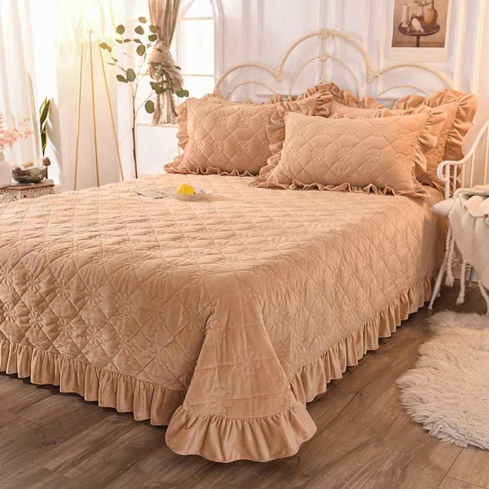 Svetanya thick Bedspread Sheet Bedcover Coverlet (or Pillowcase) super King queen single