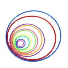 10 шт Пластиковые обруч игрушки Метание кольца Сенсорная игра
