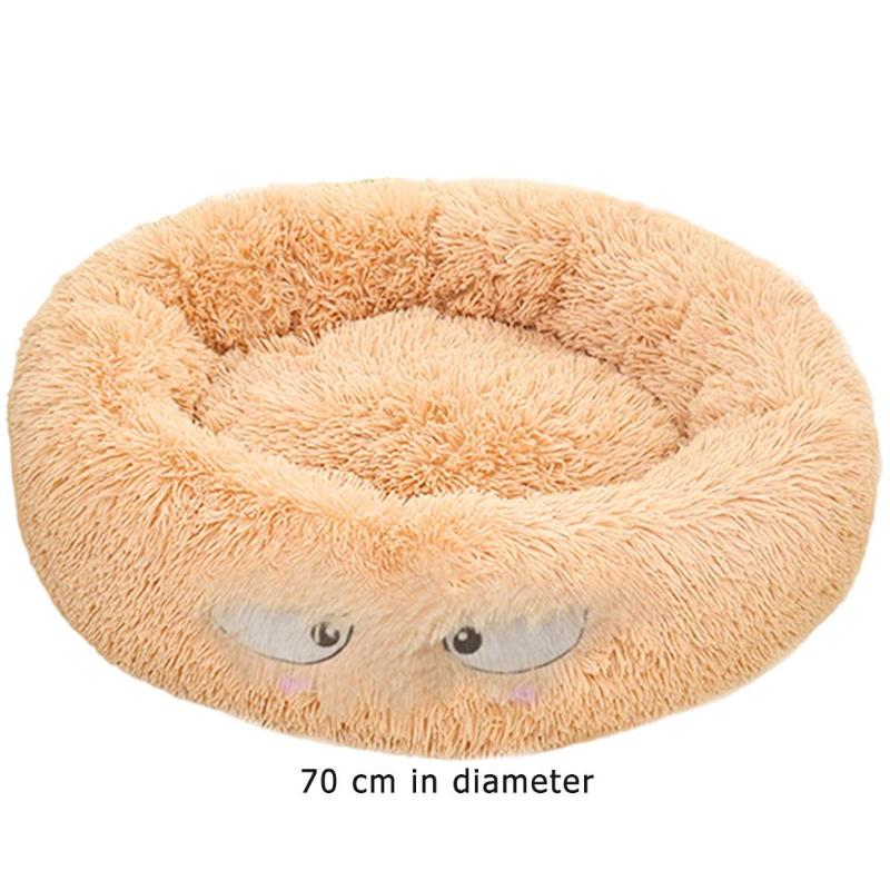 Lamb Velvet Plush Dog Cat Beds Soft Plush Pet Sofa Waterproof Bottom Nest Baskets Sleeping Cushion Household Supplies 23