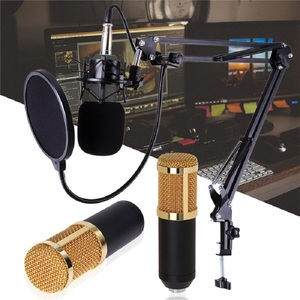 FANGTUOSI BM-800 Professional Condenser Microphone 3.5Mm Wired bm800 Karaoke Microphone For KTV Braodcasting Singing Reco