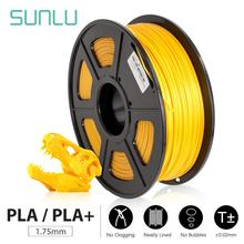 SUNLU PLA PLUS or PLA 3D Printer 1.75mm Filament PLA+ 3D Printing PLA+ Filament 1KG Spool for 3D Printers & 3D Pens sunlu filament 10kg petg 3d printer filamen pla filament 1kg a roll filament extruder 3d pen