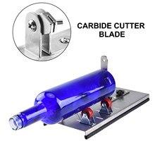 2 pces cortador de garrafa de vidro máquina ferramenta de corte lâminas de substituição carboneto