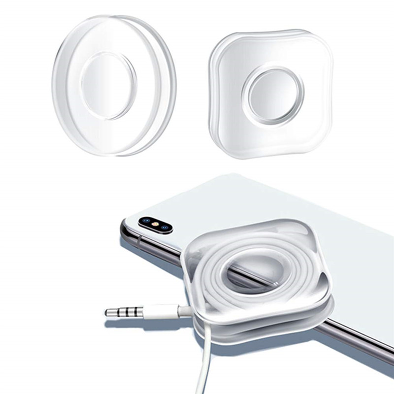 Universal Car Mobile Phone Holder Gel Paste Magic Nano Stickers No Trace Magic Nano Paste Rubber Pad Wall Stickers for Kitchen
